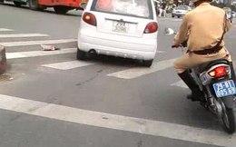 Hàng chục CSGT truy đuổi tài xế ôtô 'điên'