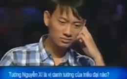 Thêm 1 clip Ai là triệu phú hài hước xôn xao dân mạng
