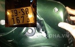 Mua xe SH 37 triệu đồng, bị 141 bắt thì phát hiện biển số giả