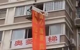 """Màn tỏ tình trên """"cần cẩu"""" gây xôn xao ở Trung Quốc"""
