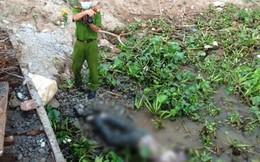 Phát hiện thi thể bị trói 2 chân dạt vào bờ sông