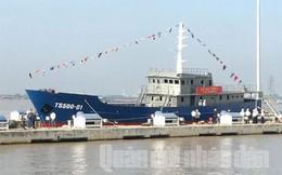 Hạ thủy tàu trinh sát 500CV cho Cảnh sát biển