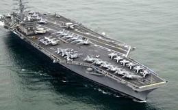 Iran luyện tấn công siêu tàu sân bay Mỹ