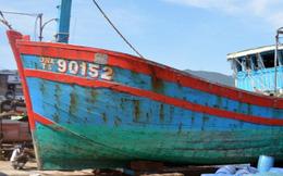 Đề nghị không sửa chữa để trưng bày tàu cá ĐNa 90152