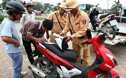 Bị CSGT giữ bằng lái xe, xin thi lại bằng mới có được không?