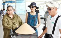 Trương Thị May mang nón lá ra nước ngoài