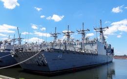 """ẢNH: Nghĩa địa tàu chiến """"khủng"""" của Hải quân Mỹ"""