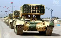 Iraq chuẩn bị đưa pháo phản lực TOS-1 tham chiến chống IS