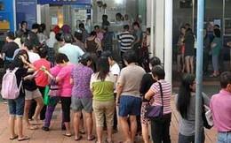 Dân Singapore đổ xô tới ngân hàng đổi tiền mừng tuổi