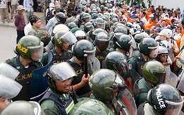 Biểu tình phi pháp trước đại sứ quán Việt Nam ở Campuchia