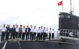 """""""Mối duyên"""" đặc biệt giữa Hà Nội và tàu ngầm Kilo đầu tiên của VN"""