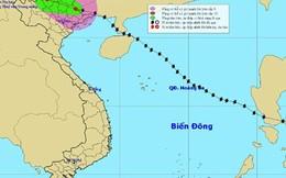 Bão Thần Sấm suy yếu thành áp thấp nhiệt đới