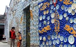 Ngôi nhà gắn 9.000 gốm sứ cổ, làm trong 16 năm chỉ có ở Việt Nam