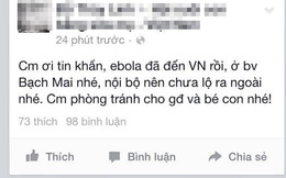 Tin đồn Việt Nam có ca nhiễm Ebola đầu tiên: Bộ Y tế nói gì?