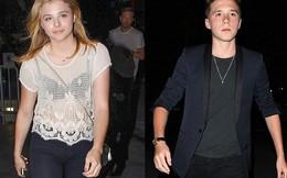 Cậu cả nhà Beckham ăn vận y hệt bố đi hẹn hò cùng bạn gái tin đồn