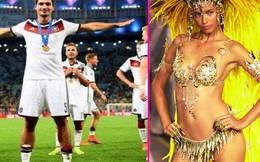 Nghi án sao Đức lang chạ với siêu mẫu Brazil