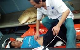 Ngư dân bị nạn khi đang đánh bắt ở biển Hoàng Sa