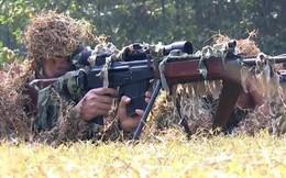 Tận mắt kỹ năng hoàn hảo của lính bắn tỉa Việt Nam