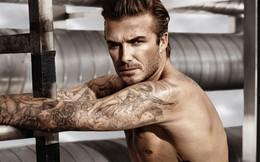 """Beckham lại """"cởi đồ"""" ở tuổi 38"""