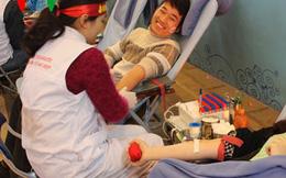 Ngày hội thanh niên Thủ đô hiến máu tình nguyện