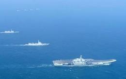 Chiến đấu cơ, tàu ngầm Mỹ theo sát Liêu Ninh