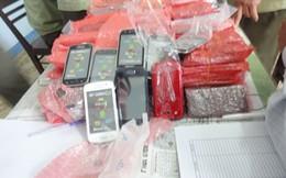 Bán điện thoại di động nhập lậu trong siêu thị BigC