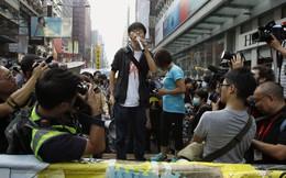 Các thủ lĩnh biểu tình Hồng Kông tuyệt thực