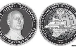Tổng thống Putin được người Nga đúc tiền tôn vinh