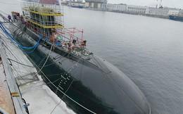 Nhà máy Admiralty đua tiến độ đóng tàu ngầm cho Việt Nam