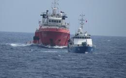 Tàu Trung Quốc bố trí đội hình vây ép tàu Kiểm ngư Việt Nam