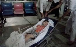 Bé 6 tuổi bị cha dượng đánh gẫy chân tay