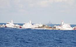 Trung Quốc tăng số tàu quanh khu vực giàn khoan lên 137 chiếc