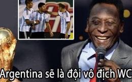 Ảnh chế: Pele dự vô địch, ĐT Argentina khóc hận