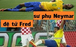 """Ảnh chế: """"Chuyên gia ăn vạ"""" Neymar có truyền nhân"""