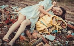 """Vẻ đẹp của """"thiếu nữ ngủ trên bãi rác"""""""
