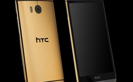 """""""Sang chảnh"""" với HTC One M8 mạ vàng, bạch kim giá 60 triệu"""