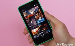 Trên tay điện thoại Nokia Lumia 630 chính hãng