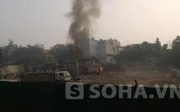 Hà Nội: Cháy khu ổ chuột gần nhà khách La Thành