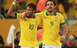 """Brazil chốt danh sách World Cup, sao rơi """"lả tả"""""""