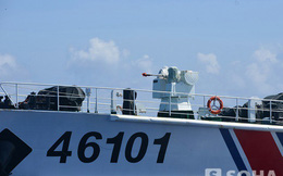 Hơn 20 ngày ở Hoàng Sa: Những bức ảnh trước mũi súng tàu TQ