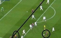 Barca mất penalty và 1 bàn thắng