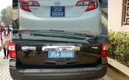 Xôn xao xe biển xanh trùng tứ quý 9 ở Ninh Bình