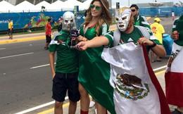Nữ phóng viên Mexico gây sốt ở World Cup 2014