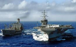 Khi có chiến tranh, biên đội tàu sân bay Mỹ lấy dầu từ đâu?
