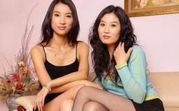 """2 chị em xinh đẹp là """"bồ nhí chung"""" của 5 tham quan Trung Quốc"""
