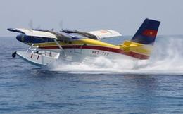 ẢNH: Thủy phi cơ DHC-6 lướt sóng Trường Sa