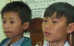 """Hai """"game thủ"""" học lớp 7 bán xe, bỏ nhà ra Hà Nội bị CSGT giữ lại"""
