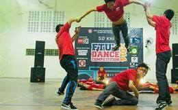 Giới trẻ háo hức với cuộc thi nhảy cực hoành tráng