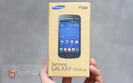 """Cận cảnh Galaxy Trend Lite, đối thủ """"nặng ký"""" của Nokia X"""