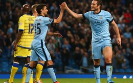 """""""Siêu"""" Lampard lập cú đúp, Man City đại thắng 7-0"""